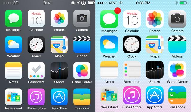 New Design Direction? Apple iOS 7