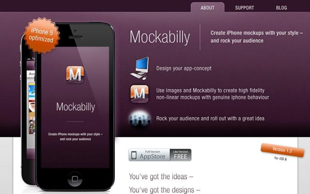 mockability - Mobile Mockup Tools