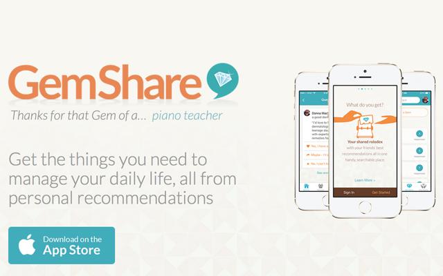 Gemshare App