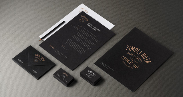 15 free high quality branding mockups
