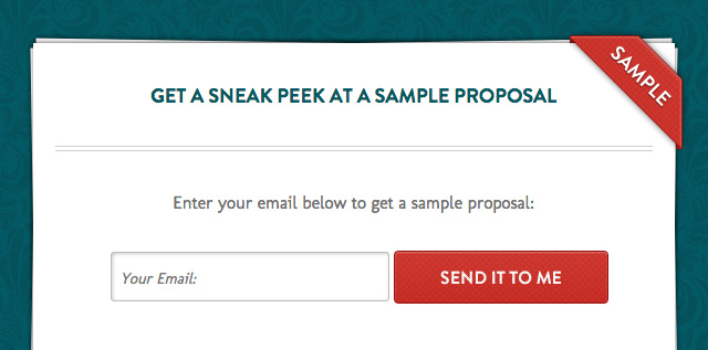 Create professional client proposals in minutes.