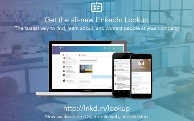 LinkedIn Lookup