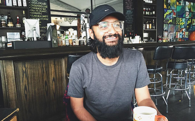 Kavi Guppta is a writer, digital nomad and content producer. Photo by Marayna Dickinson.
