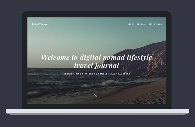 life travel free travel journal template psd
